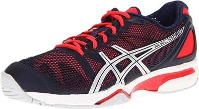 ASICS Women's Gel-Solution Speed Tennis Shoe,Eclipse/Lightning/Diva Pink,5 M US