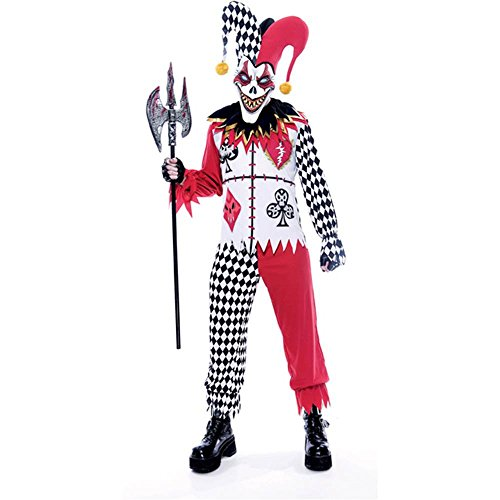 Twisted Joker Scary Adult Costume