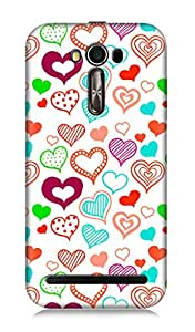 Asus Zenfone 2 Laser ZE500KL 3Dimensional High Quality Designer Back Cover by 7C