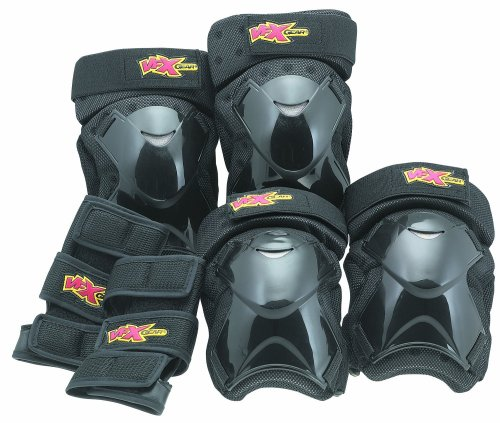 VFX Aggressive Protective Knee/Elbow/Wrist Pads, Small