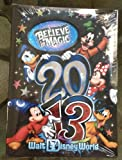 Walt Disney World 2013 Photo Album Holds 300 Photos NEW