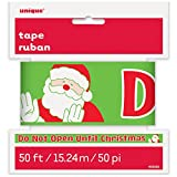 50ft Do Not Open Until Christmas Caution Tape
