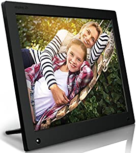 Nixplay Original 15 inch WiFi Cloud Digital Photo Frame. iPhone & Android App, Email, Facebook, dropbox, Instagram, Picasa (W15A) by nixplay