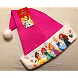 Disney Princess Felt Santa Hat 16""