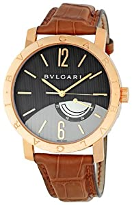 Bvlgari Men's BVLBBP41BGL Grey Dial Watch