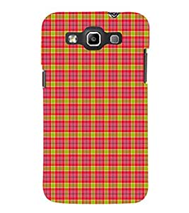 EPICCASE red squares Mobile Back Case Cover For Samsung Galaxy Quattro (Designer Case)
