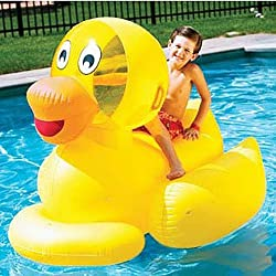 Inflatables Giant Inflatable Ducky Swimming Pool Float Toy