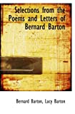 img - for Selections from the Poems and Letters of Bernard Barton book / textbook / text book