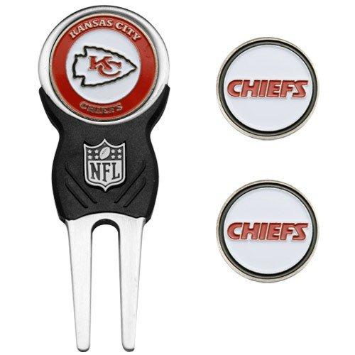 NFL Kansas City Chiefs NFL Divot Tool & Ball Marker Set