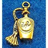 10Pcs. Antique Spray PERFUME BOTTLE Charms Pendants Findings PR259 DIY Crafting Key Chain Bracelet Necklace Îewelry Accessories Pendants