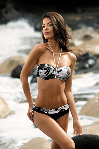 #Feba #Figurformender #Damen #Bikini #Selena #(Muster-14DK, #Cup #75 #C / #Unterteil #38)