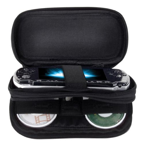 Intec Sony PSP Travel Case, Black