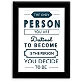 TIED RIBBONS® Inspirational Poster With Frame