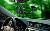 Water Asleep® One Touch Windshield Dashboard Universal Car Mount Holder for Iphone 6 (4.7) Plus/5s/5c/4s, Samsung/galaxy S4/s3/s2, Mp3/mp4/pda/psp/gps/htc- Gift Packaging/applicable to the Mobile Phone Screen Between 3.2-6.0 Inches(black)