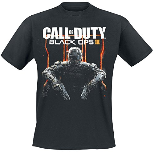 Call Of Duty Black Ops III - Cover Art T-Shirt nero L