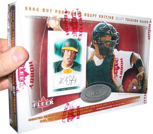 2004 Fleer Baseball Cards Hot Prospects Draft Edition Hobby Box
