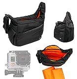 DURAGADGET Rugged 'Urban Dweller' SLR Camera Shoulder 'Sling' Carry Bag For The New GoPro HERO 4
