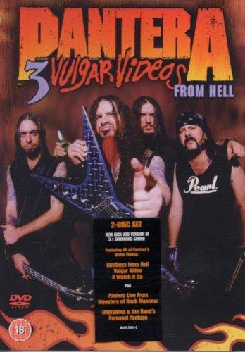 Pantera - 3 Vulgar Videos From Hell