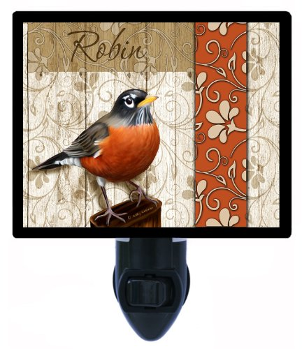 Night Light - Robin - Bird Night Light