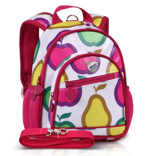 "Child Safety Harness, 11"" Mini Backpack With Rein - Fruit"