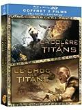 Le Choc des Titans + La colère des Titans [Combo Blu-ray 3D + Blu-ray - Édition boîtier SteelBook]