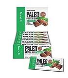 Paleo Protein Bars Chocolate Mint 12 Bars (20g Protein) w/Prebiotics 2 Net Carb
