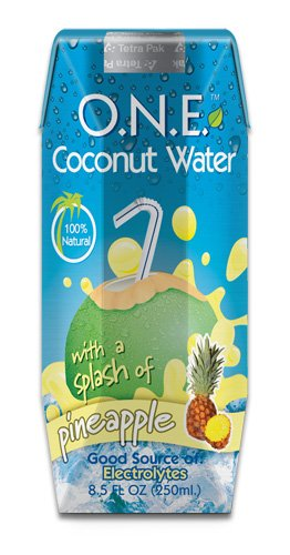 O.N.E. Coconut Water  a Splash of Pineapple