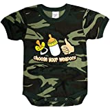 Rothco Infant One-Piece / Choose Your Weapon in Woodland Camo
