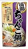 モランボン 横綱ちゃんこ鍋用スープ だし薫るしょうゆ味 750g×10袋
