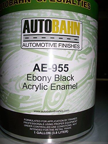 autobahn-ae-955-ebony-black-acrylic-enamel-kit-wholesale-auto-paints-gallon-auto-car-truck-paint-kit