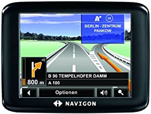 Navigon 1310 Satelliten-Navigationssystem Europa (UK Import)