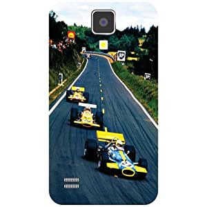 Samsung I9500 Galaxy S4 Back Cover - Racing Track Designer Cases