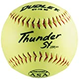 Dudley SY12RF-ASA 12 inch Synthetic Leather ASA Softball (Sold in Dozens)