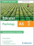 img - for Edexcel AS Psychology Student Unit Guide New Edition: Unit 2 Understanding the Individual (Student Unit Guides) book / textbook / text book