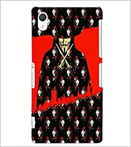 PrintDhaba Vendetta D-3508 Back Case Cover for SONY XPERIA Z2 (Multi-Coloured)