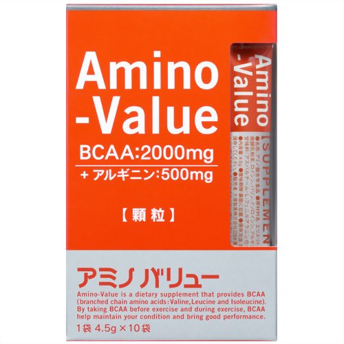 アミノバリューサプリメントスタイル4.5g×10袋