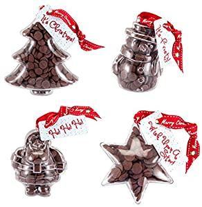 Chocolate Christmas Decorations Multipack. From the Belgian Milk ...