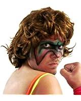 Costume Agent Extreme Warrior Wrestling Costume Wig