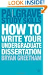 How to Write your Undergraduate Disse...