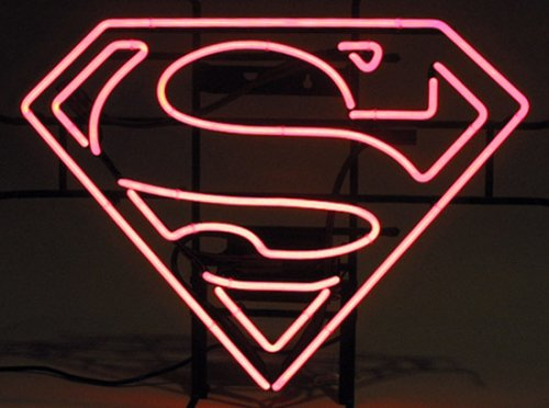 Buy Superman S-Shield Neon Sign