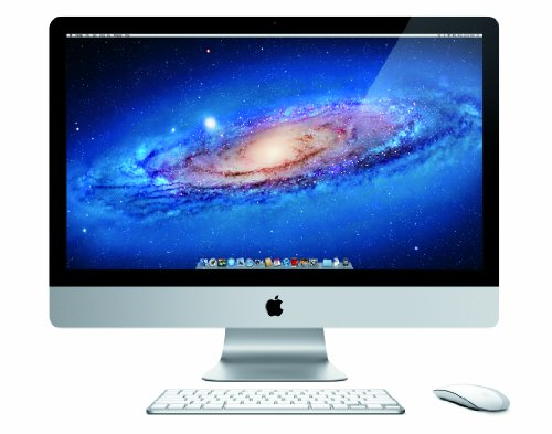 Apple iMac MC814LL/A 27-Inch Desktop PC (3.1GHz Intel Core i5 Processor, 4GB RAM, 1TB HDD) (OLD VERSION)