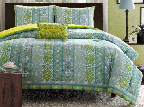 Mizone Sasha Comforter Set - Blue - Full/Queen front-592982