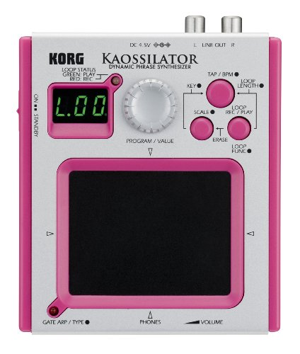 Korg Dynamic Phrase Synthesizer - Pink Case