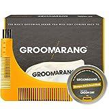 Groomarang Pro Groom Collection Beard Comb Catcher Shampoo Wash Ball 50g