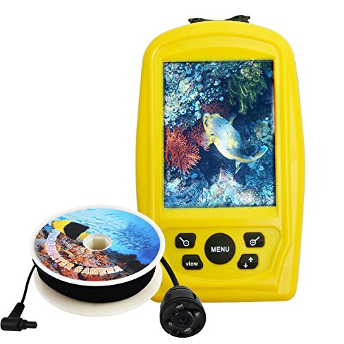 Lucky Fish Finder Monitor With Waterproof 20M Underwater Camera