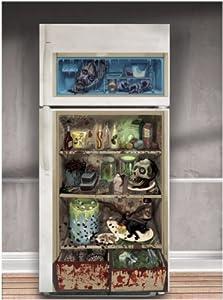 Amscan International Cover Refrigerator Door Halloween by Amscan International ltd