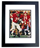 Bobby Bell Autographed Kansas City Chiefs 8x10 Photo - FREE SHIPPING - with HALL OF FAME Inscription BLACK CUSTOM FRAME at Amazon.com