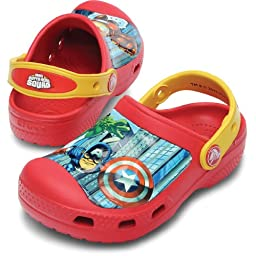 crocs 14044 SS13 C Marvel Clog (Toddler/Little Kid),Red/Canary,12 M US Little Kid