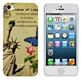 Hard case City design (New York) for Apple iPhone 5 / 5S - from kwmobile