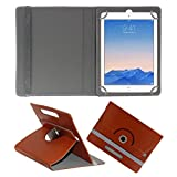 ACM ROTATING 360° LEATHER FLIP CASE FOR APPLE IPAD AIR 2 TABLET STAND COVER HOLDER BROWN